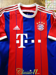 2014/15 Bayern Munich Home Football Shirt (B)