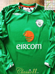 2006/07 Republic of Ireland Home Football Shirt. (L)