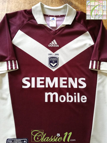 2001/02 Bordeaux 3rd Football Shirt (L)
