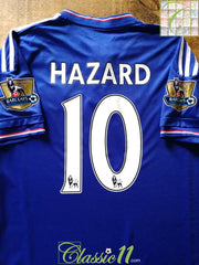 2015/16 Chelsea Home Premier League Football Shirt Hazard #10 (S)