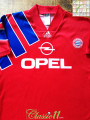 1991/92 Bayern Munich Home Football Shirt (XL)