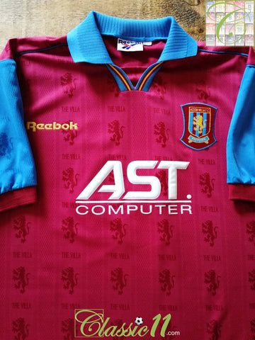 1995/96 Aston Villa Home Football Shirt (XL)