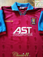 1995/96 Aston Villa Home Football Shirt (XXL)