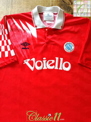 1991/92 Napoli 3rd Football Shirt (XL)