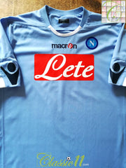 2010/11 Napoli Home Football Shirt (L)