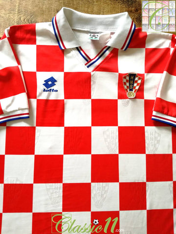 1994/95 Croatia Home Football Shirt (L)