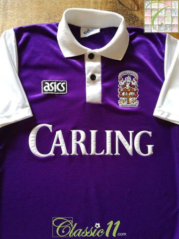 1993/94 Stoke City Away Football Shirt (S)