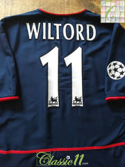 2002/03 Arsenal Away Football Shirt Wiltord #11 (XXL)