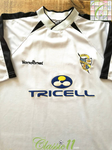 2003/04 Port Vale Home Football Shirt (L)