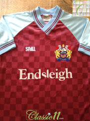 1988/89 Burnley Home Football Shirt (Y)