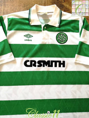 1989/90 Celtic Home Football Shirt (M)
