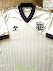 1984/85 England Home Football Shirt (L)