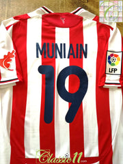 2009/10 Athletic Bilbao Home La Liga Football Shirt Muniain #19 (XL)