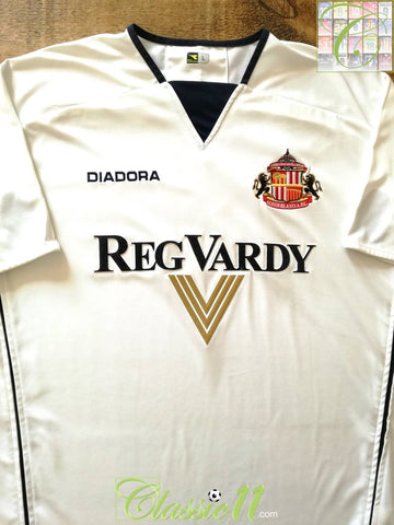 2004/05 Sunderland Away Football Shirt (L)