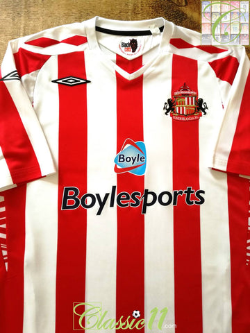 2007/08 Sunderland Home Football Shirt (XL)