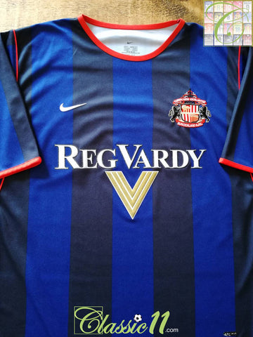 2001/02 Sunderland Away Football Shirt (L)