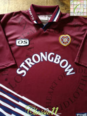 1998/99 Hearts Home Football Shirt (XL)