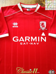 2007/08 Middlesbrough Home Football Shirt (M)