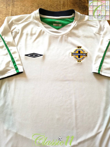 2004/05 Northern Ireland Away Football Shirt (L)