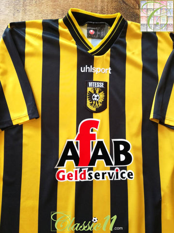 2004/05 Vitesse Arnhem Home Football Shirt (L)