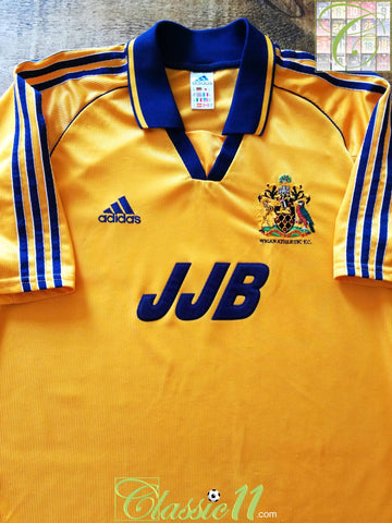 1998/99 Wigan Athletic Away Football Shirt (M)