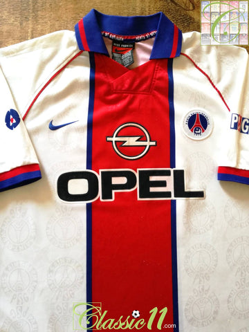 1996/97 PSG Away Football Shirt (XL)