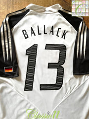 2004/05 Germany Home Football Shirt Ballack #13 (L)