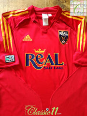 2005 Real Salt Lake Home MLS Football Shirt (XL)