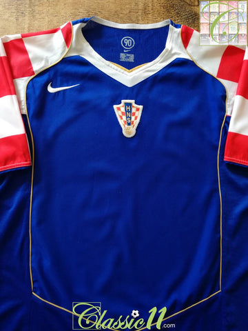 2004/05 Croatia Away Football Shirt (M)