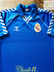 1987/88 Real Madrid Away Football Shirt (M)