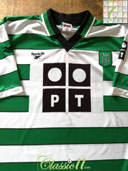 2000/01 Sporting Lisbon Home Football Shirt (XL)