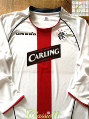 2005/06 Glasgow Rangers Away Football Shirt. (Y)