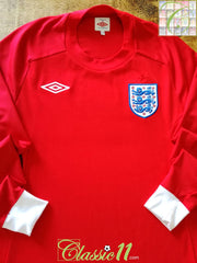 2010/11 England Away Football Shirt. (XL) *BNWT*