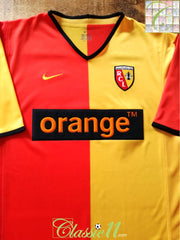 2001/02 RC Lens Home Football Shirt (L)