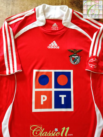 2006/07 Benfica Home Football Shirt (L)