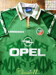 1996/97 Republic of Ireland Home Football Shirt (Y)