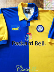 1997/98 Leeds United Away Football Shirt (XXL)