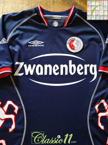 2003/04 FC Twente Away Football Shirt (L)
