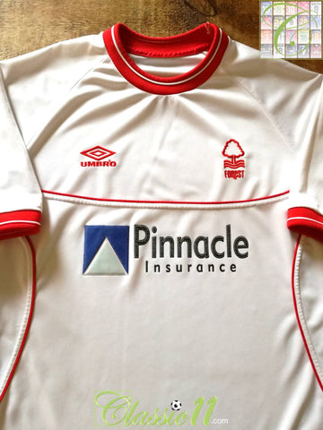 2000/01 Nottingham Forest Away Football Shirt (L)