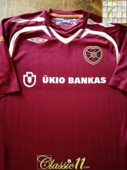 2007/08 Hearts Home Football Shirt (XL) *BNWT*
