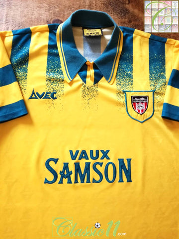 1995/96 Sunderland Away Football Shirt (M)