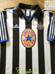 1999/00 Newcastle United Home Football Shirt (L)