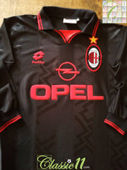 1996/97 AC Milan 3rd Football Shirt. (L)