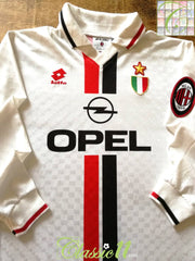 1996/97 AC Milan Away Football Shirt. (L)