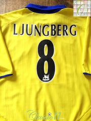 2003/04 Arsenal Away Premier League Football Shirt Ljungberg #8 (XXL)