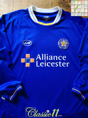 2005/06 Leicester City Home Football Shirt. (S)