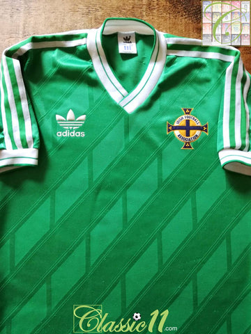1986/87 Northern Ireland Home Football Shirt (L)