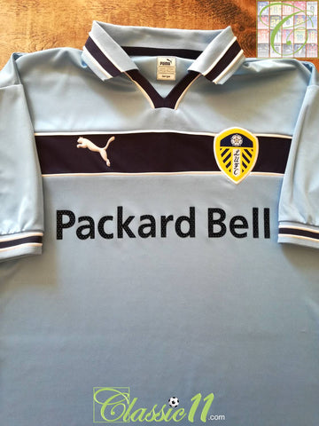 1999/00 Leeds United Away Football Shirt (L)