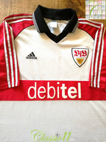 1999/00 Stuttgart Home Football Shirt (M)