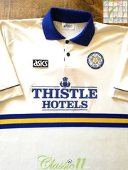 1993/94 Leeds United Home Football Shirt (XL)